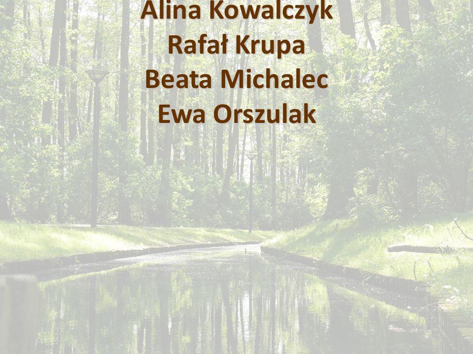 Prezentację przygotowali: Alina Kowalczyk Rafał Krupa Beata Michalec Ewa Orszulak