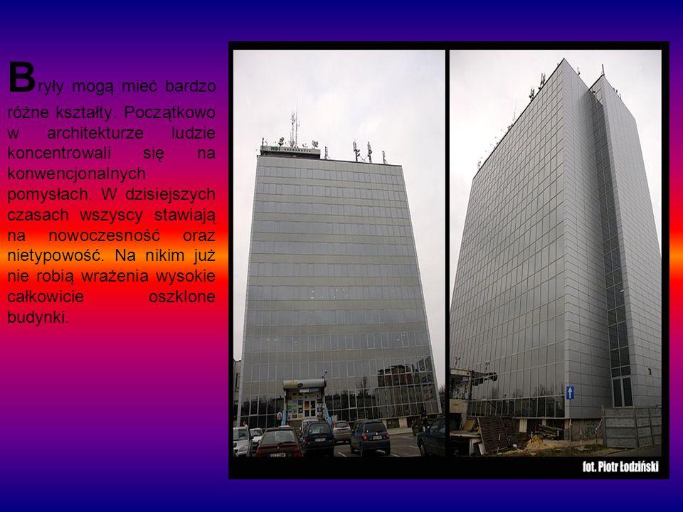 Bryły dzielą się na : WALCE Przykładem takiej budowli jest Krzywa Wieża w Pizie.