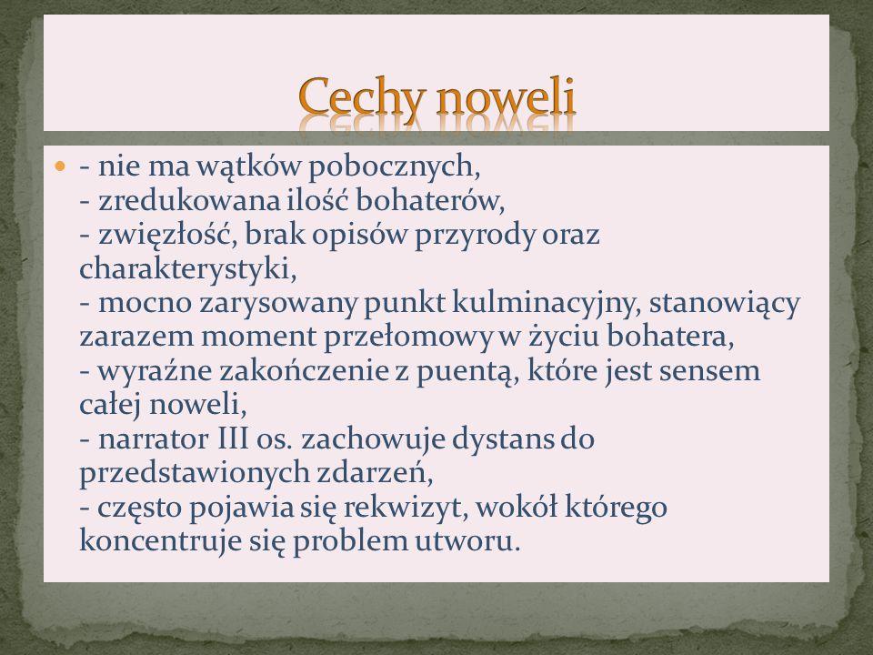 Nowela jest głosem pisarza w sprawie pozytywistycznych haseł, takich jak praca organiczna i praca u podstaw.