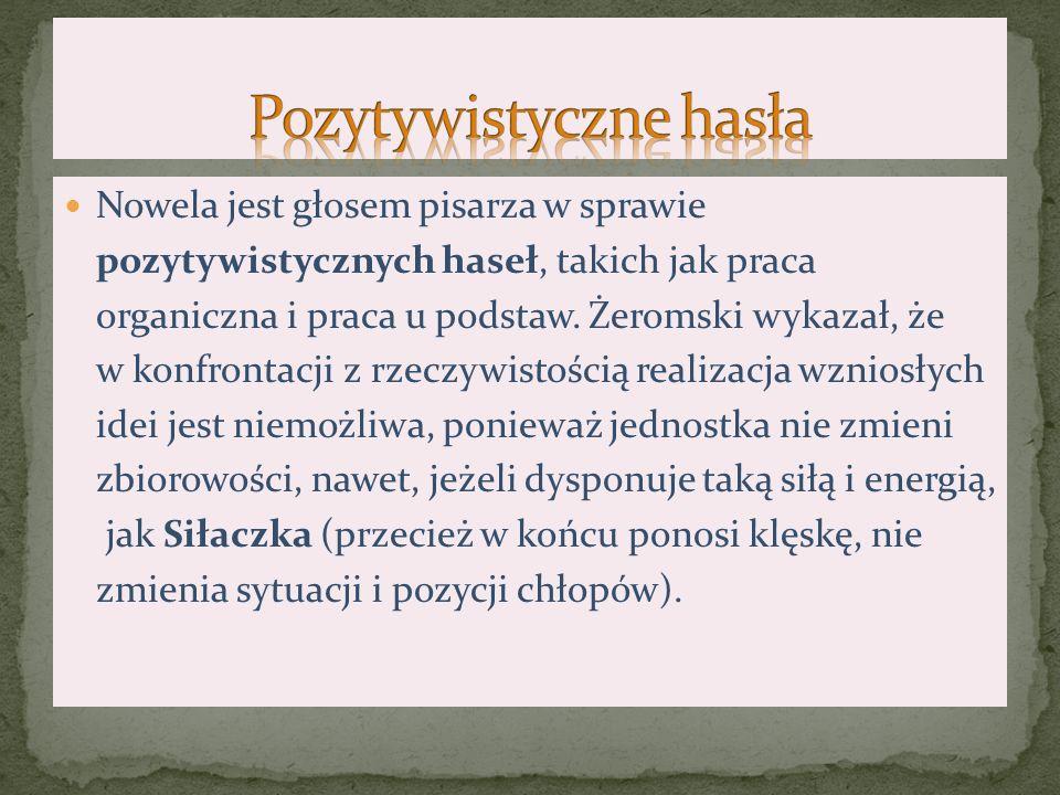 Jedno z podstawowych haseł polskiego pozytywizmu, zakładające konieczność pracy nad każdym elementem organizmu społecznego.