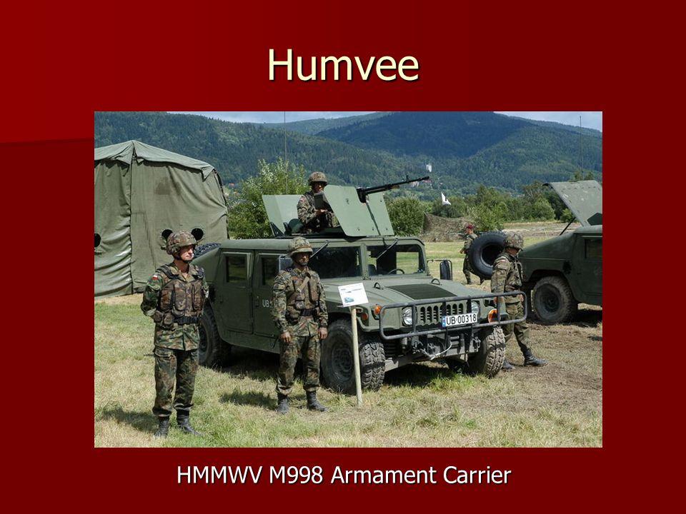 Humvee HMMWV M998 Armament Carrier