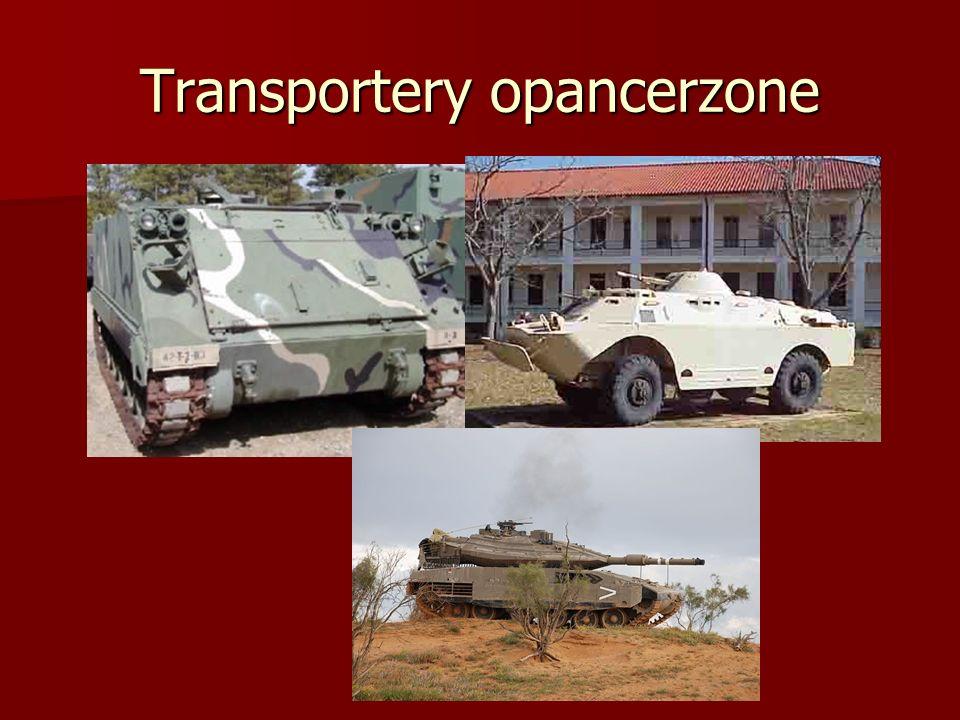 Transportery opancerzone