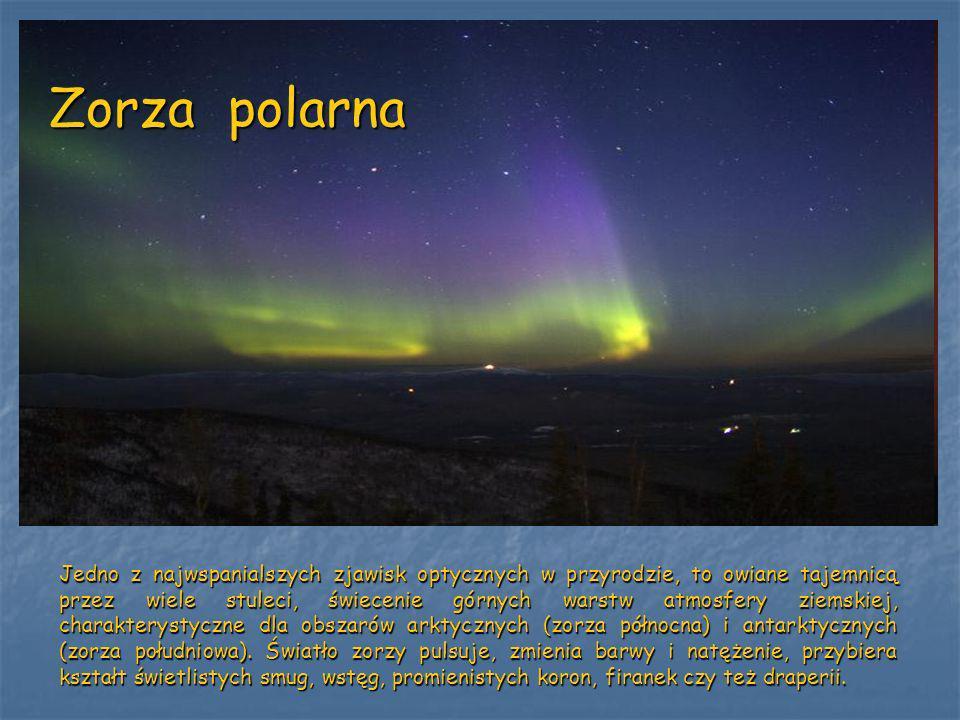Jedno z najwspanialszych zjawisk optycznych w przyrodzie, to owiane tajemnicą przez wiele stuleci, świecenie górnych warstw atmosfery ziemskiej, chara