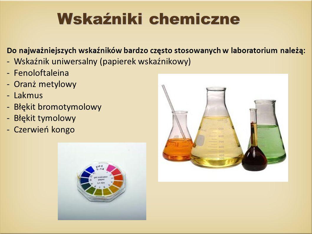 Zbadanie pH substancji mających zastosowanie w gospodarstwach domowych za pomocą papierka uniwersalnego i określenie odczynu pH