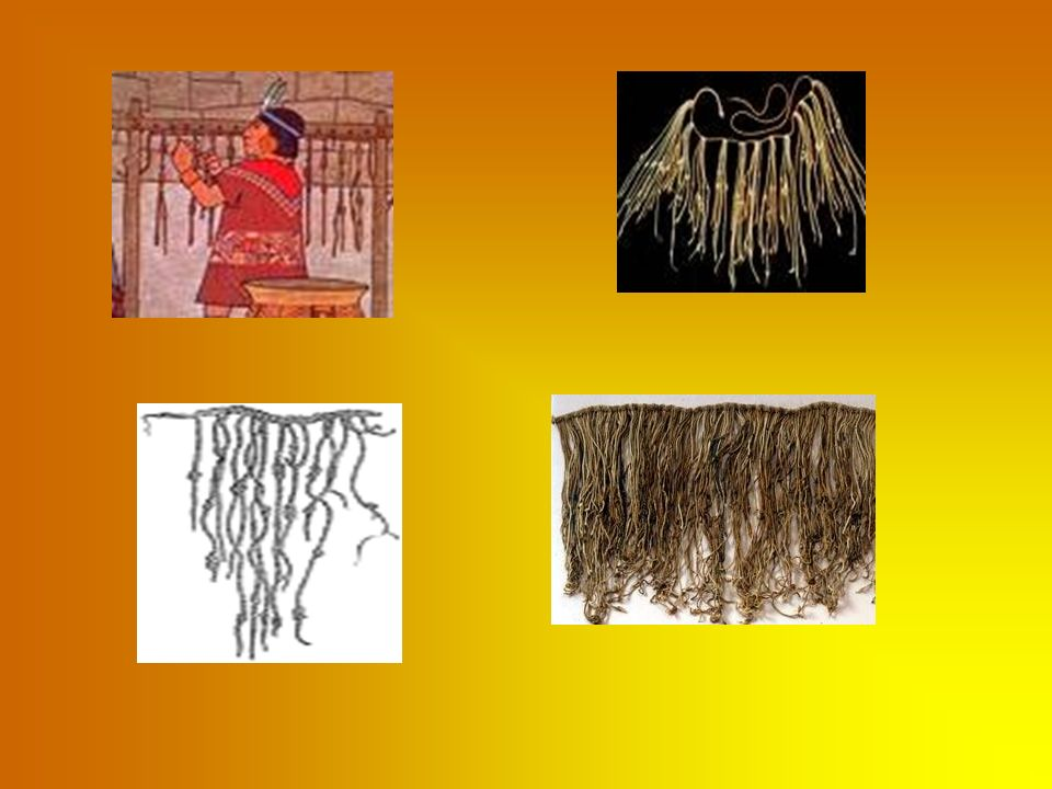 Kipu było to urządzenie, które składało się ze sznura oraz przywiązanych do niego kolorowych sznurków wiązanych w supełki, które były zastosowane przez Indian do arytmetyki.