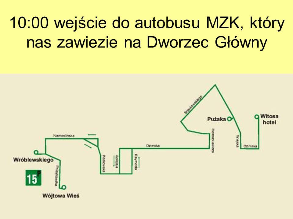 Marsz do ZOO (ok. 15 min)