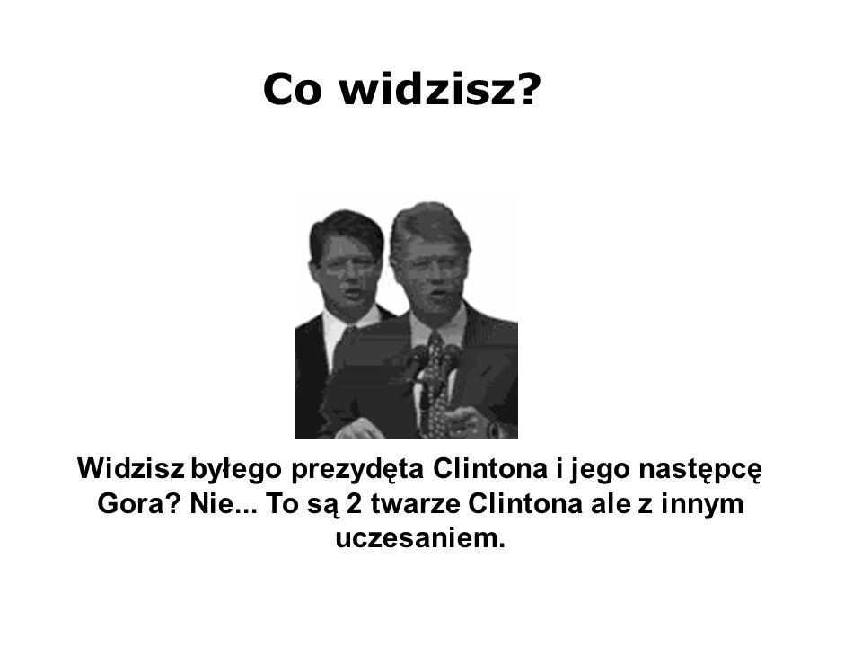 Widzisz byłego prezydęta Clintona i jego następcę Gora.