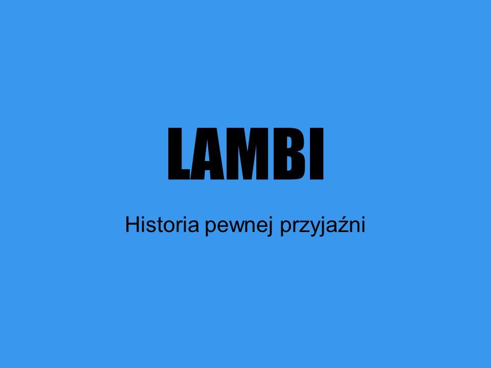 LAMBI Historia pewnej przyjaźni