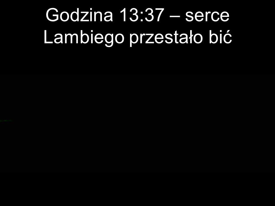 Godzina 13:37 – serce Lambiego przestało bić