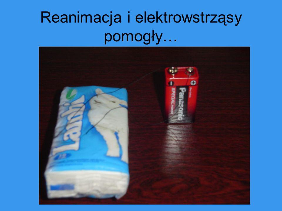 Reanimacja i elektrowstrząsy pomogły…
