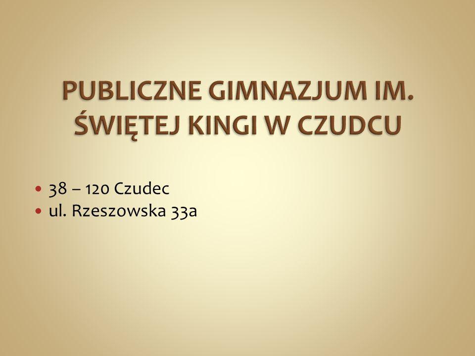 38 – 120 Czudec ul. Rzeszowska 33a