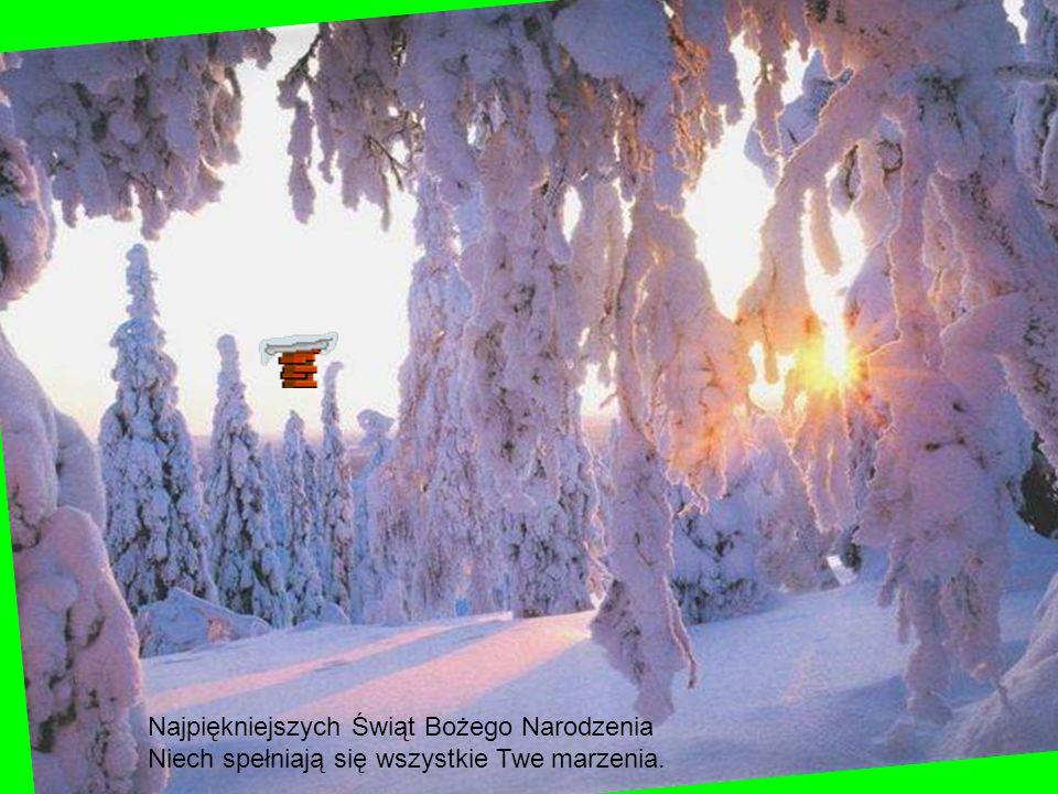 Pada śnieg, suną sanki - jest renifer i bałwanki...