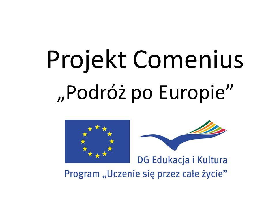 Projekt Comenius Podróż po Europie