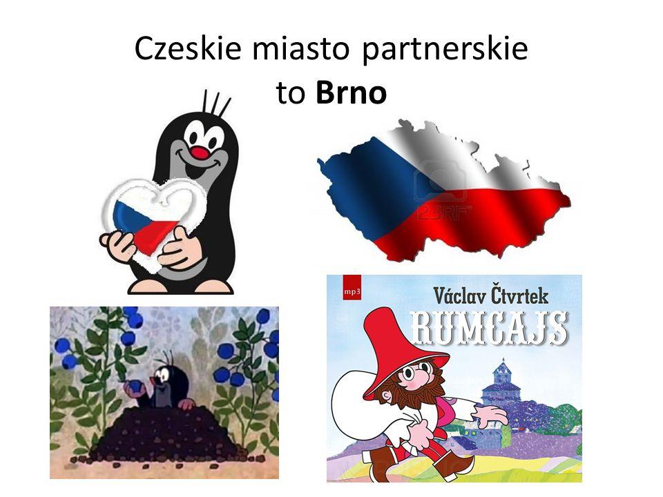 Czeskie miasto partnerskie to Brno