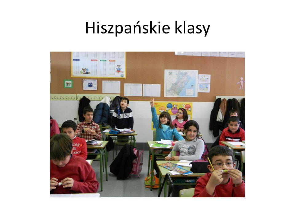 Hiszpańskie klasy