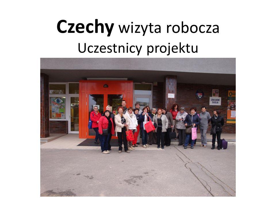 Czechy wizyta robocza Uczestnicy projektu