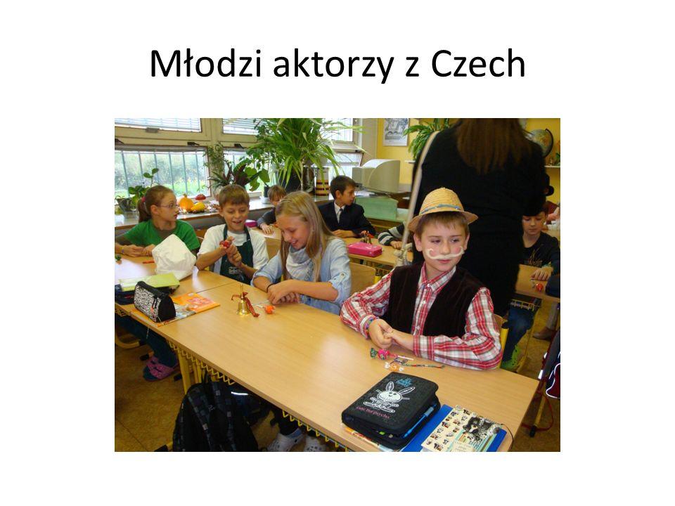 Młodzi aktorzy z Czech