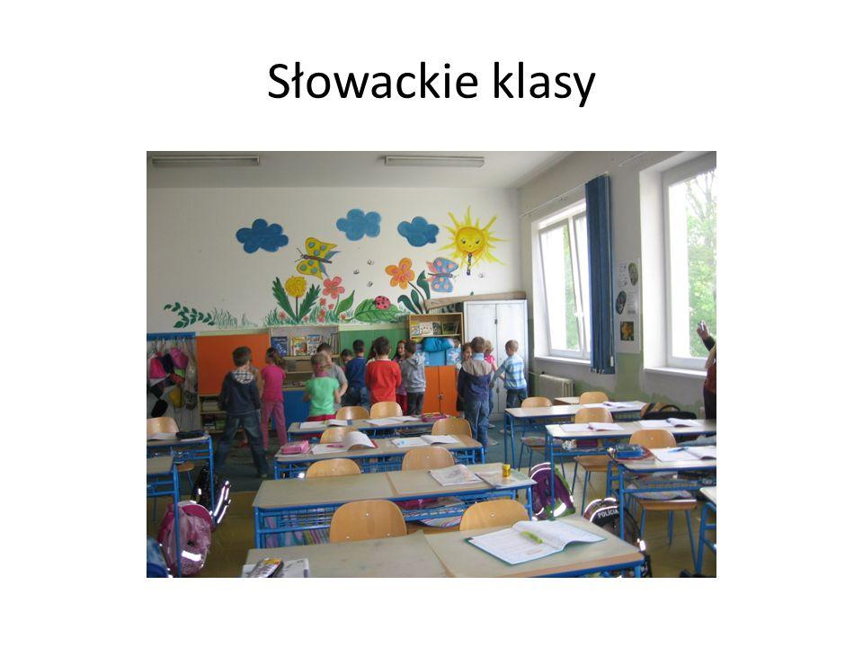 Słowackie klasy