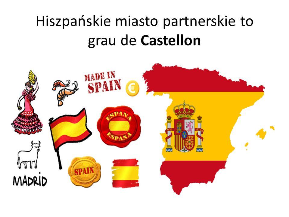 Hiszpańskie miasto partnerskie to grau de Castellon