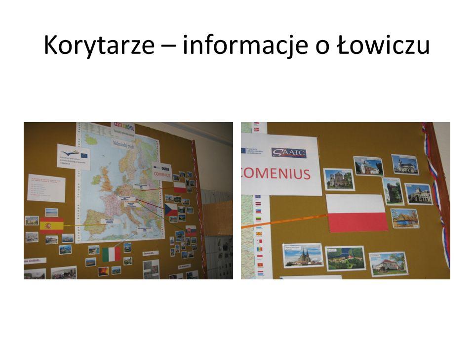 Korytarze – informacje o Łowiczu