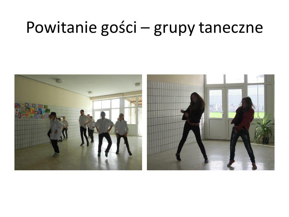 Powitanie gości – grupy taneczne