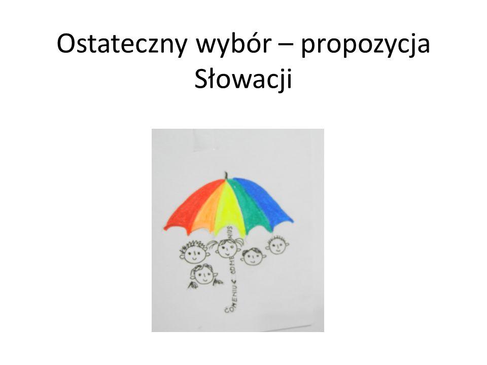 Ostateczny wybór – propozycja Słowacji