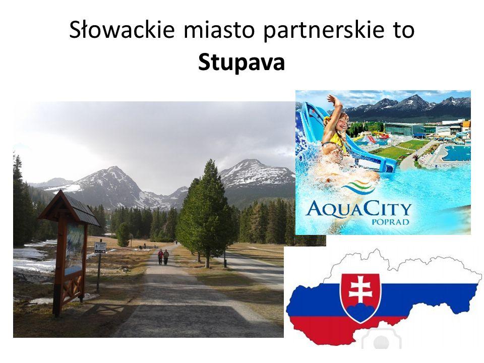 Słowackie miasto partnerskie to Stupava