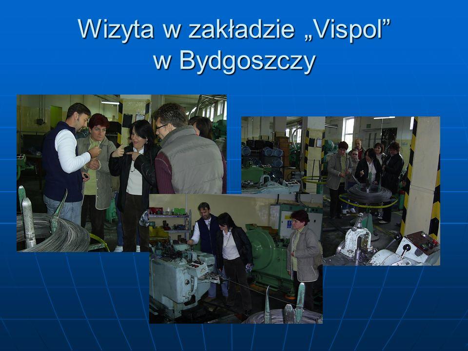 Wizyta w zakładzie Vispol w Bydgoszczy