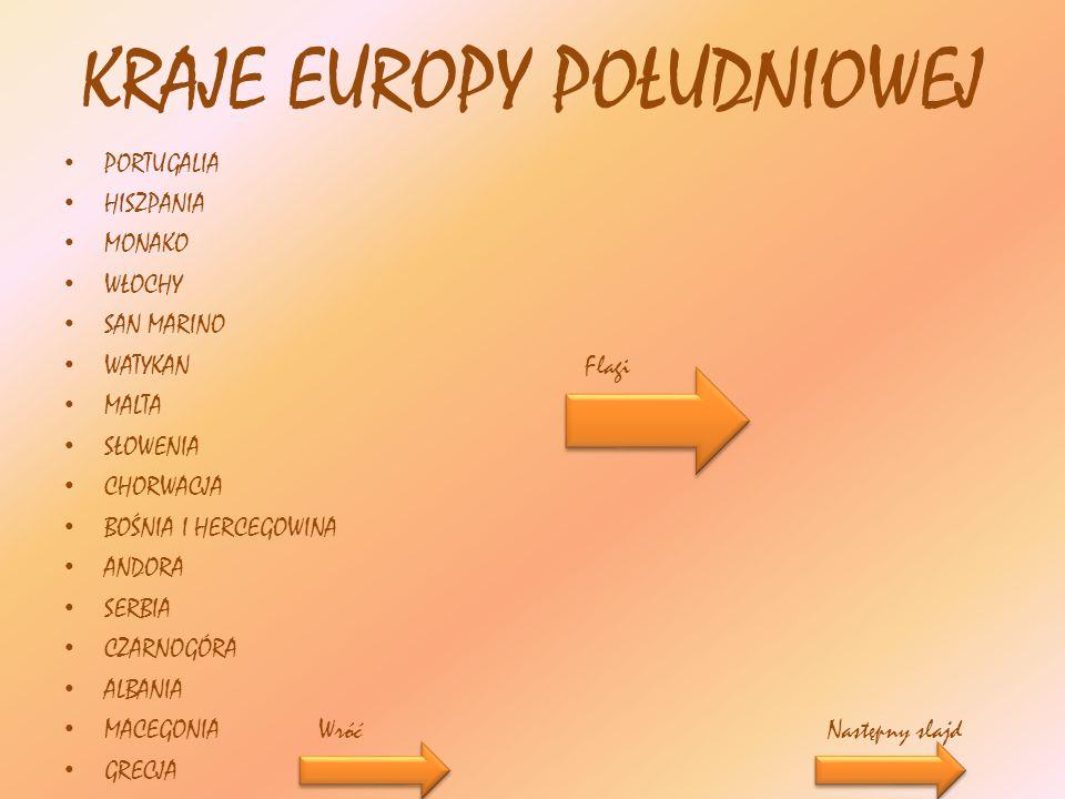 Flagi państw środkowo- wschodnich Polska Czechy Słowacja Węgry Rumunia Bułgaria