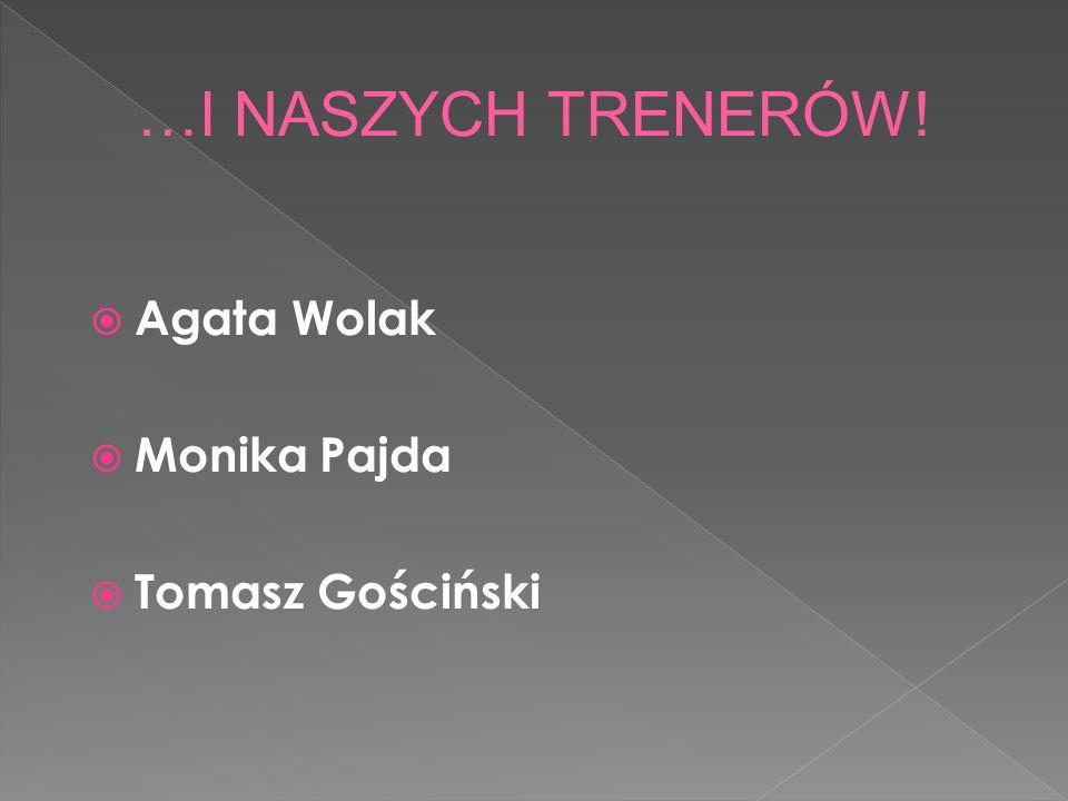 Agata Wolak Monika Pajda Tomasz Gościński