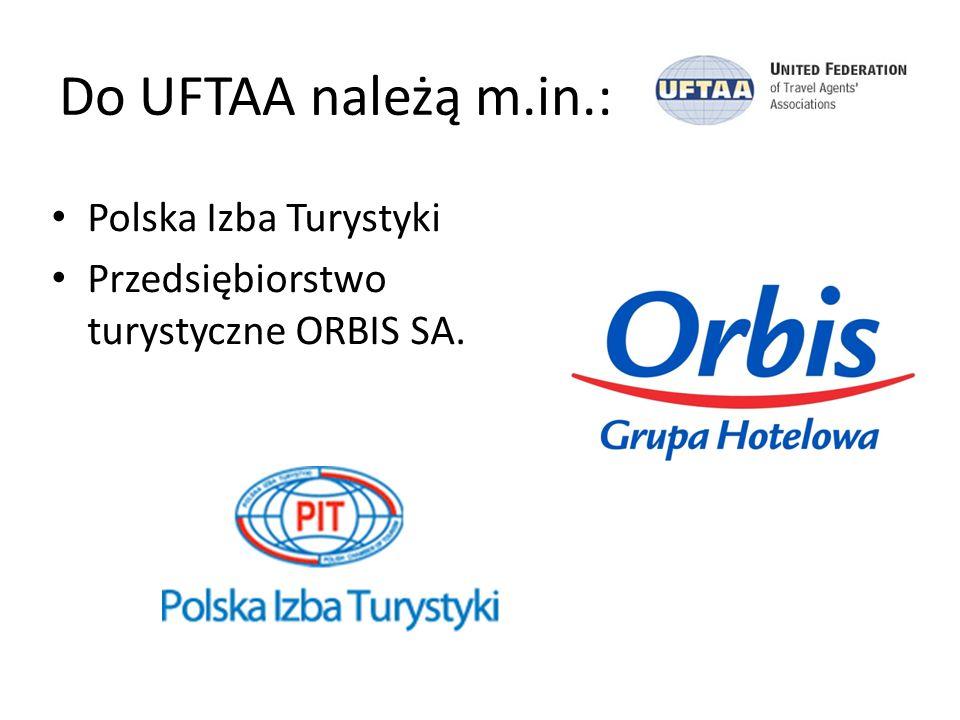 Członkowstwo w UFTAA Status UFTAA zezwala na członkowstwo więcej niż jednego krajowego Związku Biur Podróży i Touroperatorów z danego kraju.