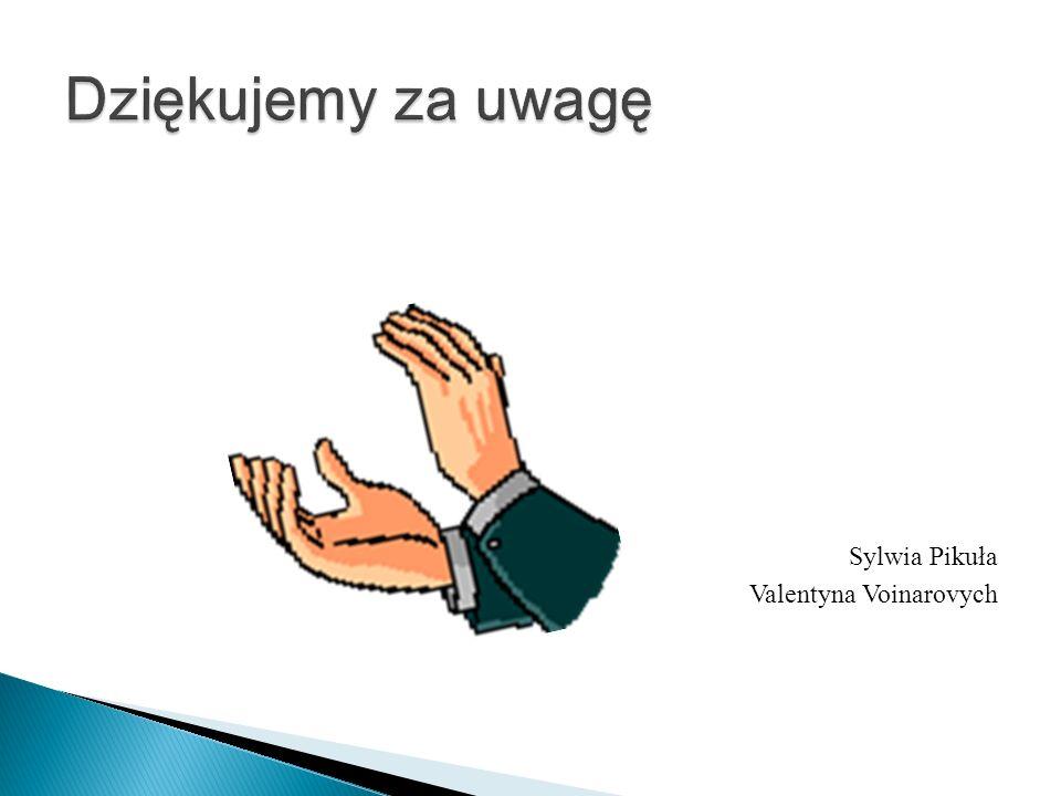 Sylwia Pikuła Valentyna Voinarovych