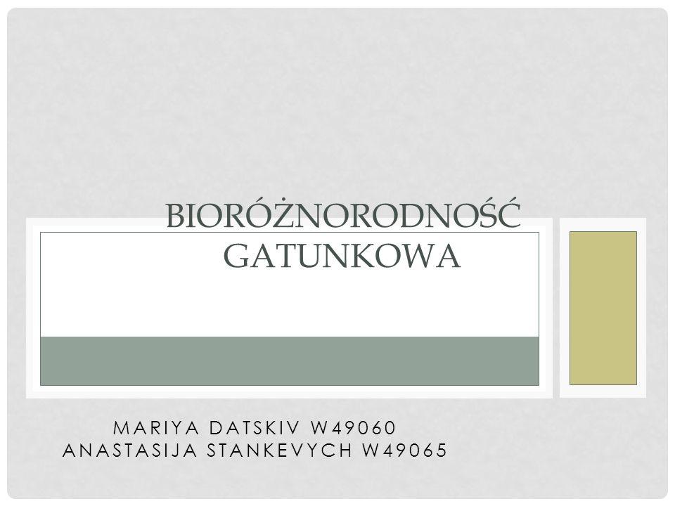 Ważnym elementem strategii ochrony jest monitoring różnorodności biologicznej i prowadzenie bazy danych.