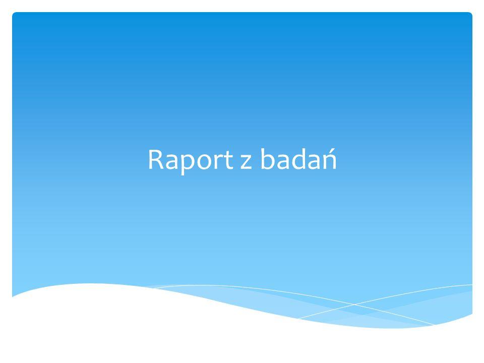 Raport z badań
