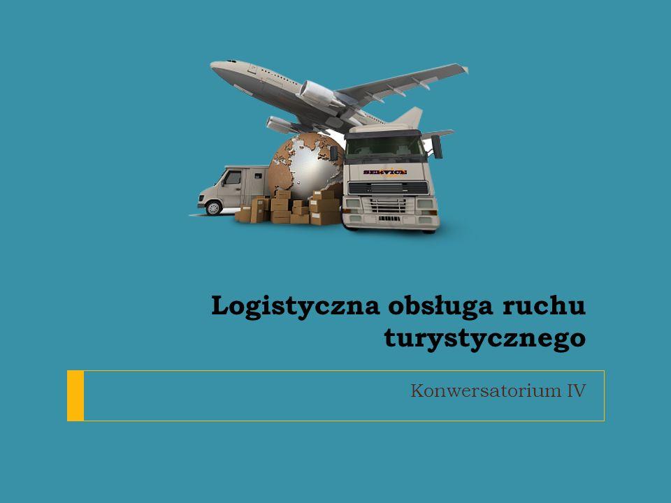 Logistyczna obsługa ruchu turystycznego Konwersatorium IV
