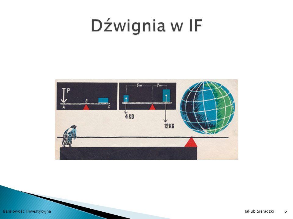 Finansowa Prawna Fiskalna Operacyjna Ekonomiczna Informacyjne Zasobów ludzkich Bankowość Inwestycyjna Jakub Sieradzki7