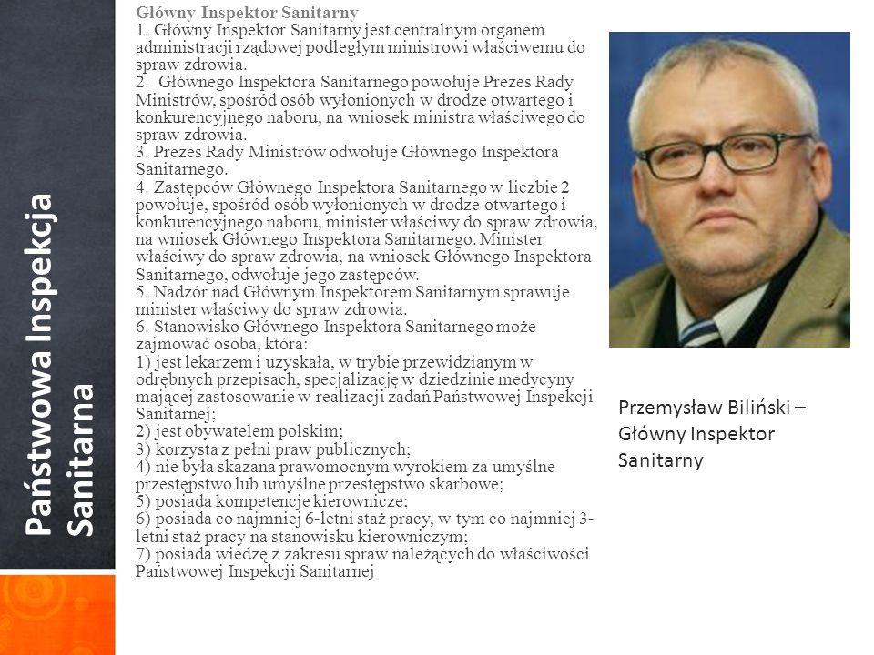 Państwowa Inspekcja Sanitarna Rada Sanitarno-Epidemiologiczna – organ doradczy i opiniodawczy GIS 1.