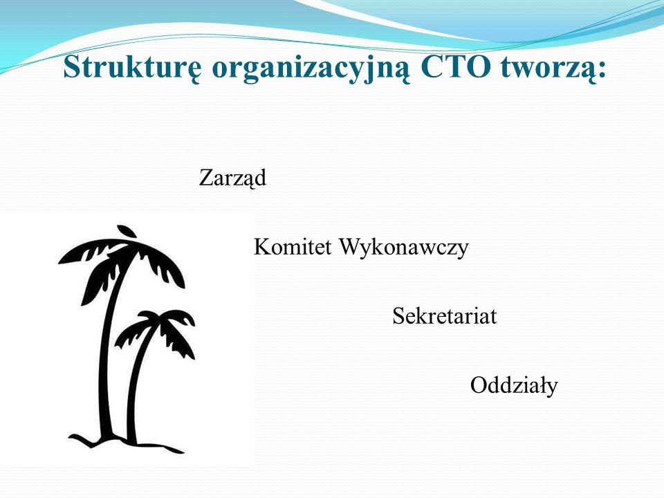 Strukturę organizacyjną CTO tworzą: Zarząd Komitet Wykonawczy Sekretariat Oddziały