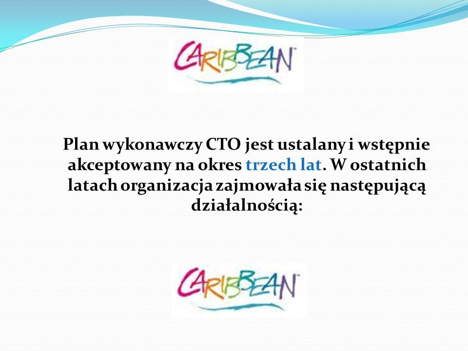 Plan wykonawczy CTO jest ustalany i wstępnie akceptowany na okres trzech lat. W ostatnich latach organizacja zajmowała się następującą działalnością: