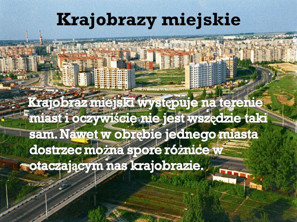 Krajobrazy miejskie
