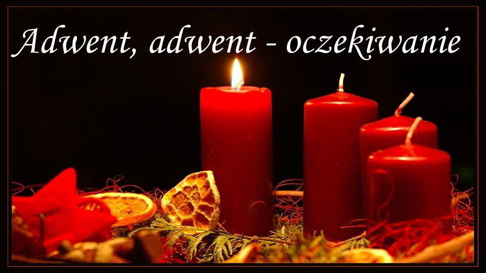 I znowu zapalamy jedną świeczkę, co ogrzeje nasze serca...