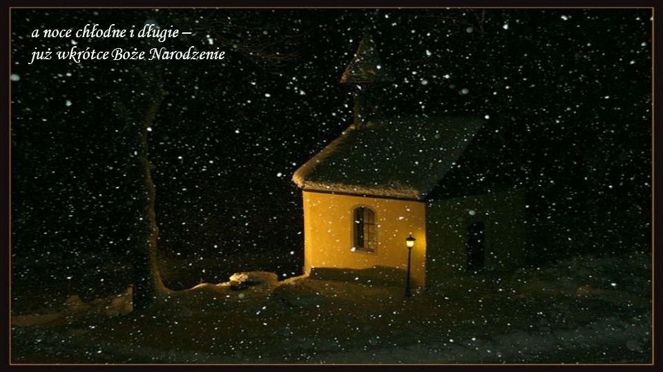 A kiedy śnieżek prószy, to słychać dzwonki z Nieba