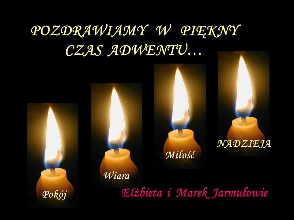 ...a każdy z nas niech światło: Pokoju,Wiary,Miłości i Nadziei, nieustająco podtrzymuje.
