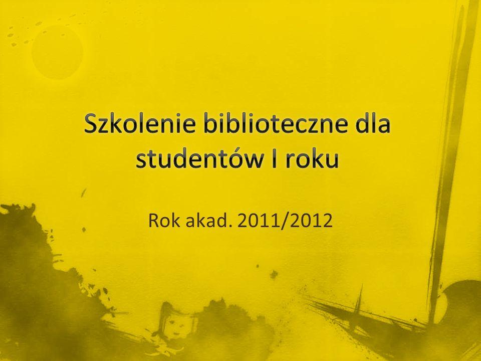 Rok akad. 2011/2012