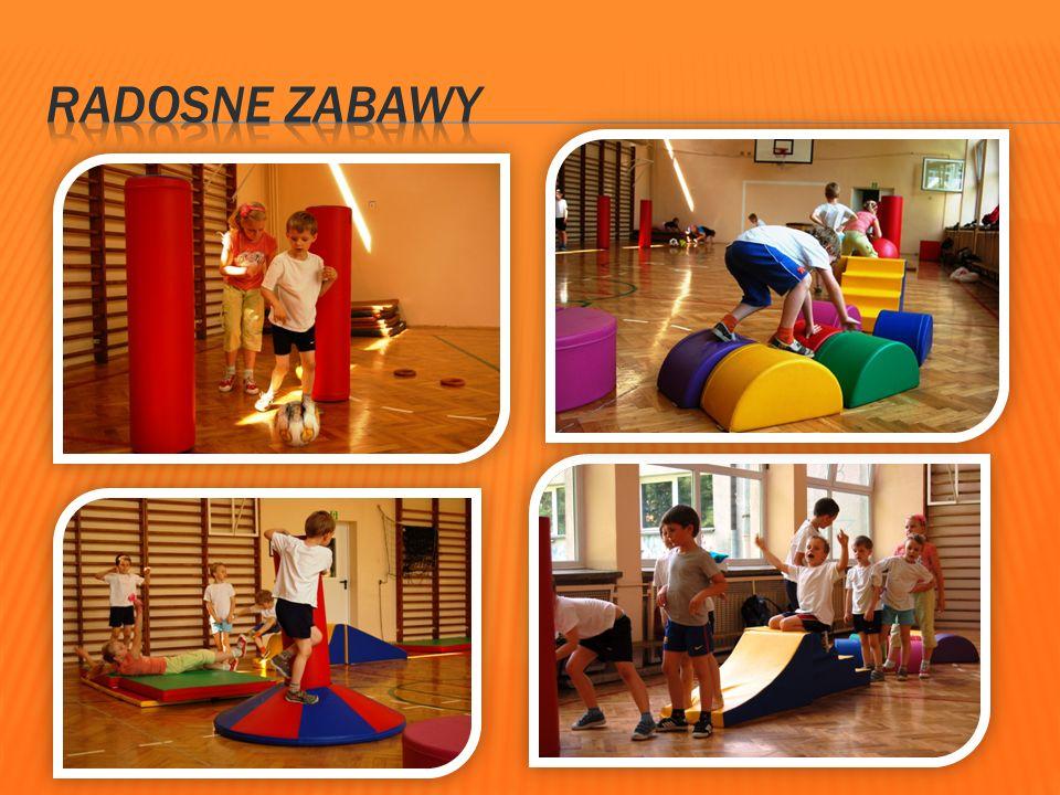 Zajęcia odbywają się w małej sali gimnastycznej, prowadzone są zgodnie z programem zajęć korekcyjnych dla dzieci w wieku 6 lat.