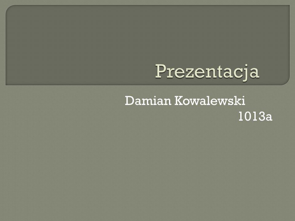 Ż yciorys Nazywam si ę Damian Kowalewski, urodzi ł em si ę 28 lipca 1993 roku w Nowej D ę bi ę w województwie podkarpackim.