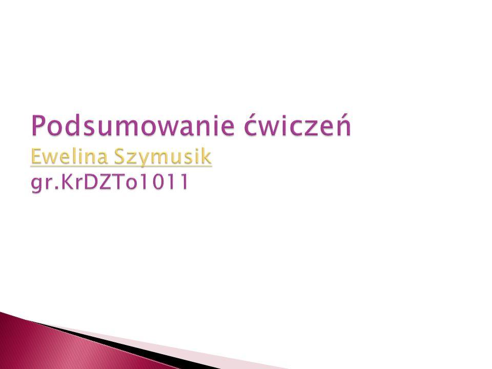 Nazywam sie Ewelina Szymusik.Urodzi lam sie 30 kwietnia 1991 roku w Pilicy.
