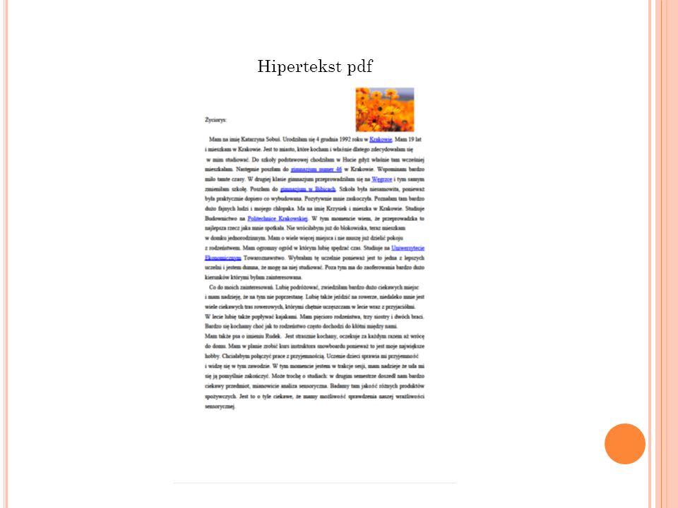 Hipertekst pdf