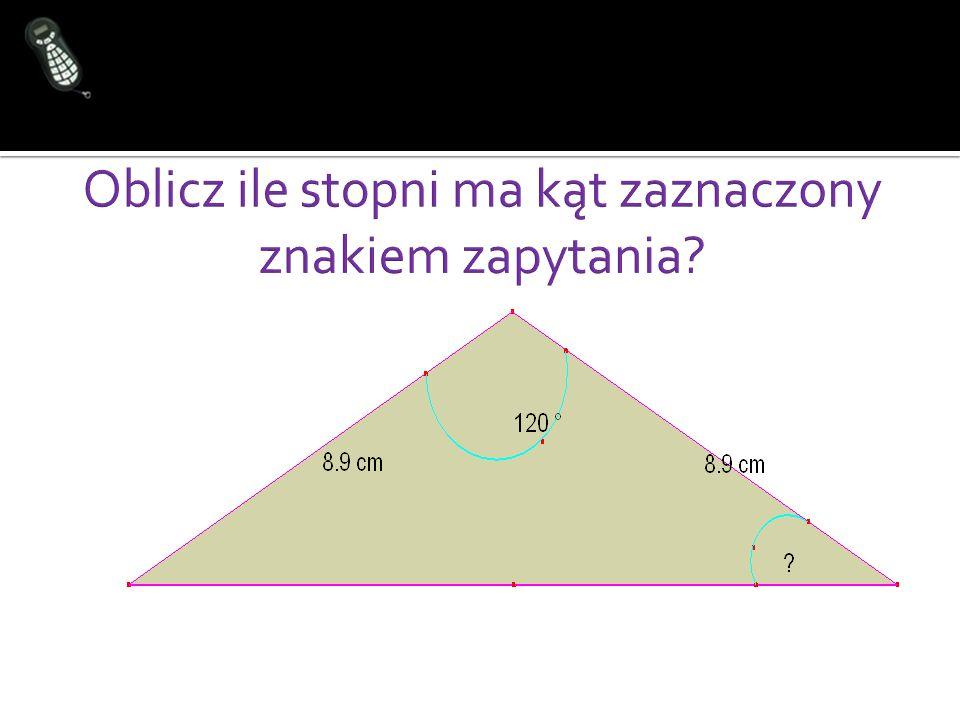 W programie GeoGebra narysuj trójkąt równoramienny i prostokątny.