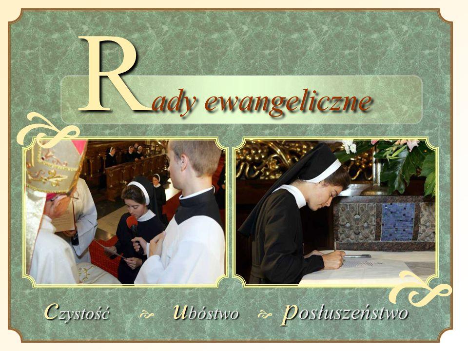 R ady ewangeliczne c zystość u bóstwo p osłuszeństwo